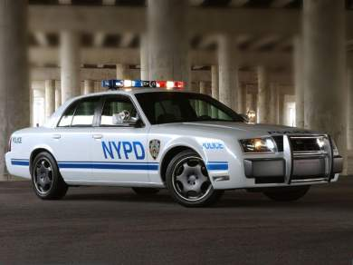 Modern Racer Features Police Cars Ford Crown Victoria Police