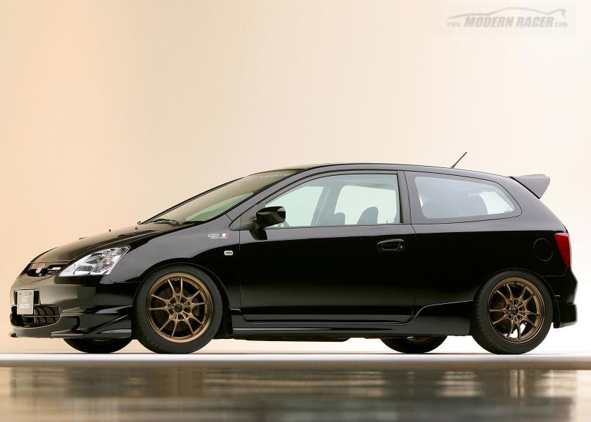 SEMA 2002   Honda Civic Si Mugen
