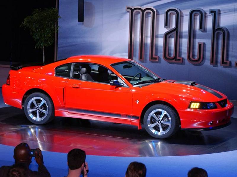 2003 2004 ford mustang mach 1 modern racer auto archive pictures