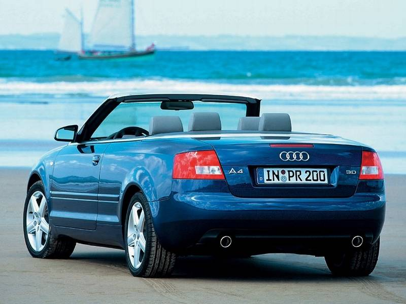 2003-2004 Audi A4 Cabriolet - Modern Racer - Auto Archive - Pictures