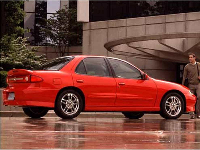 2003 2004 Chevrolet Cavalier Ls Sport Sedan Modern Racer Auto