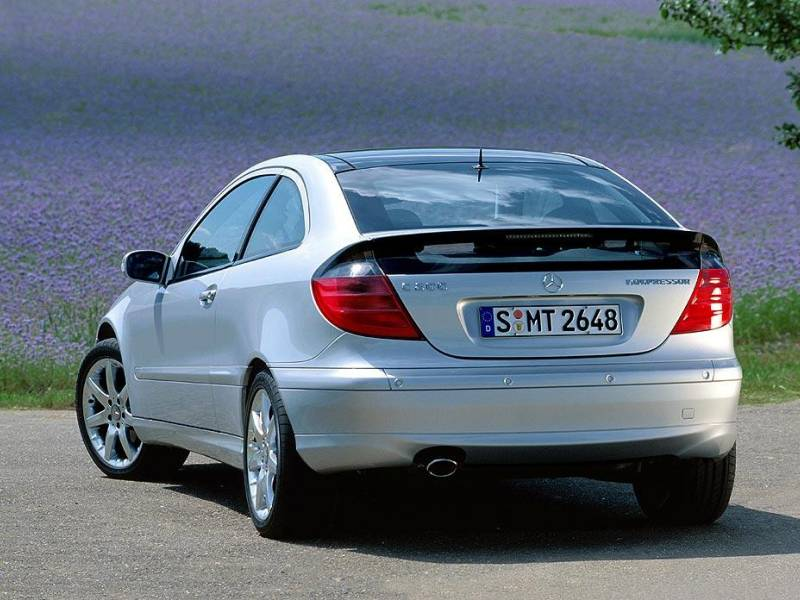 2003 2004 Mercedes Benz C230 Sports Coupe