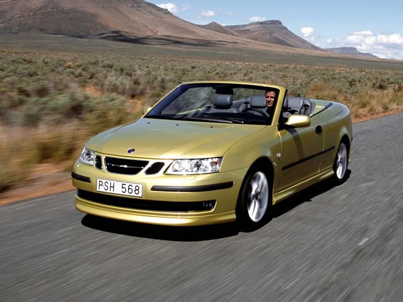 2004 2005 Saab 9 3 2 0t Convertible