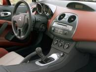 if its true that time varies depending on the speed at which you travel then buyers of the all new 2006 mitsubishi eclipse should prepare to age - Mitsubishi Eclipse 2006 Interior