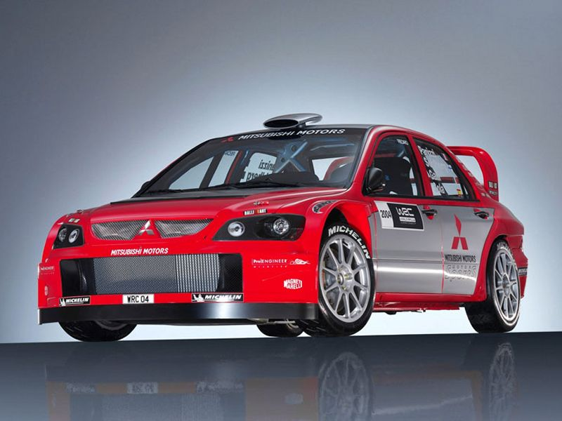 Mitsubishi Lancer Evolution Wrc04 Car Cutaway Modern Racer
