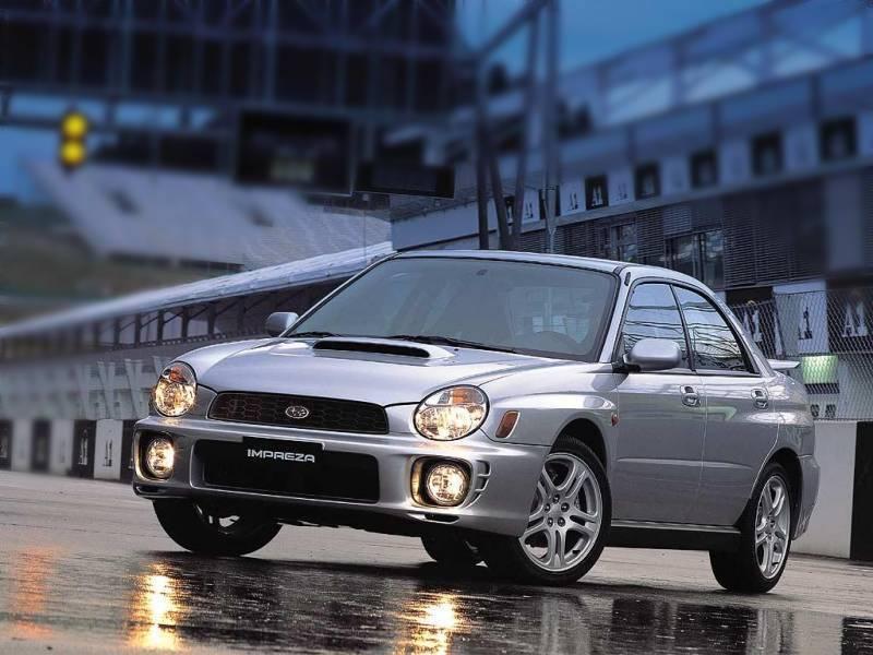 Subaru Impreza Wrx 2002 Rally Subaru Impreza Wrx