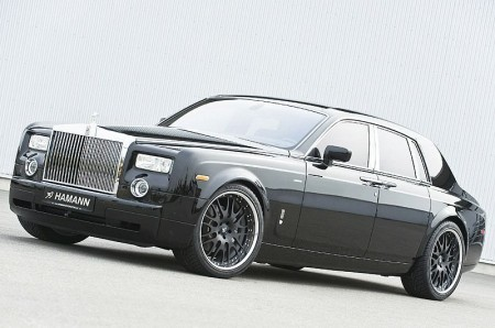 Rolls Royce Phantom. Rolls Royce Phantom gets