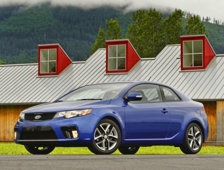 2010 Kia Forte Koup Kia's two-door Forte Koup is hitting dealerships across