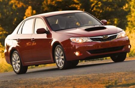 "All 2010 Subaru models feature new ""Symmetrical AWD"" badging. Impreza blends"