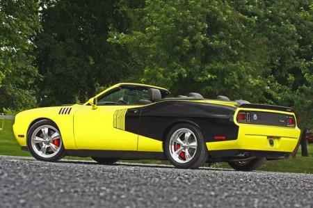 Norm resurrects Hemi Cuda Challenger convertible | ModernRacer Cars ...