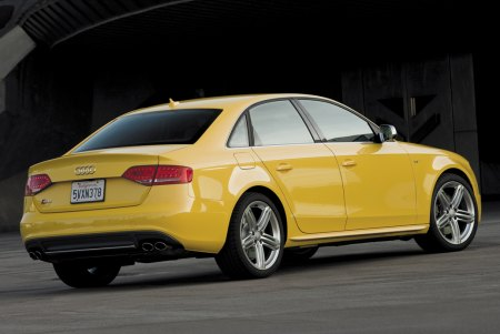 The 2010 S4 sedan returns to the Audi U.S. lineup a year after the