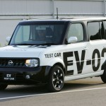 The History of the Nissan EV - Nissan Cube EV Prototype