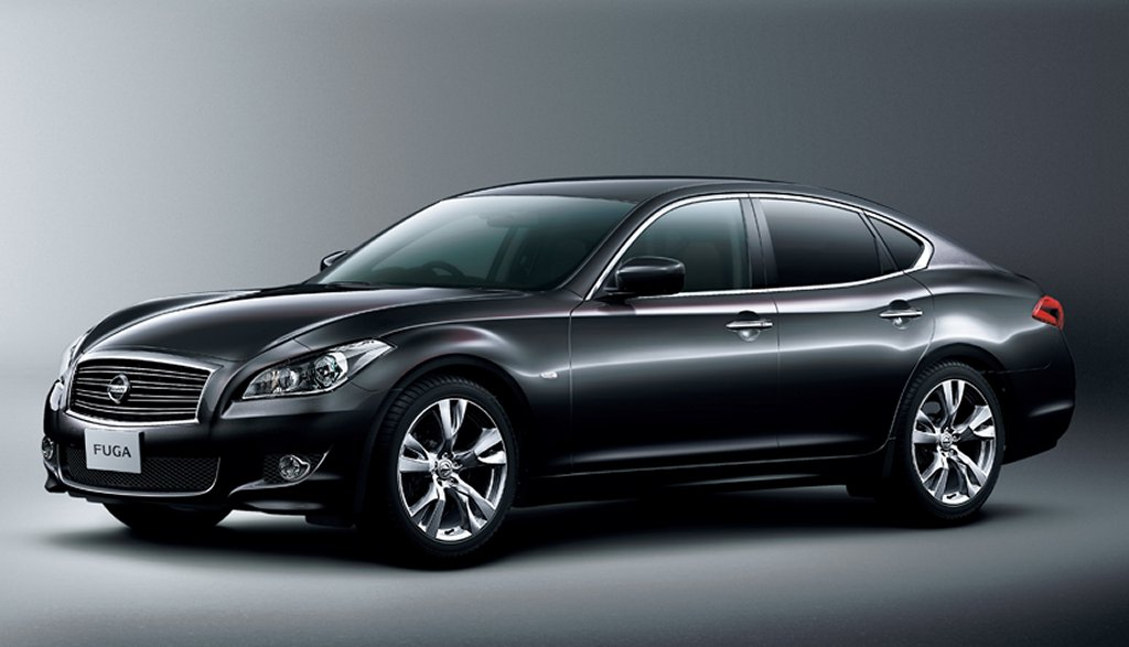 Elegant Black 2011 Nissan Fuga