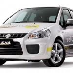 Concept Suzuki SX4 Fuel Cell Vehicle