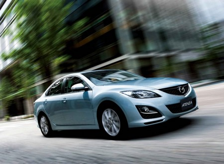 2011 Mazda 6 JDM gets frontal facelift