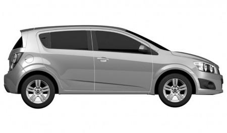 2012 Chevrolet Aveo 5