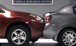IIHS Crash Test - 2010 Nissan Sentra US-spec vs 2010 Nissan Rogue US-spec