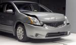 IIHS Crash Test - 2010 Nissan Sentra US-spec vs 2010 Nissan Rogue US-spec 3