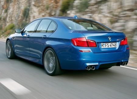 2012 BMW M5 4