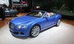 2013 Detroit Auto Show - 2013 Bentley Continental GT Speed Convertible