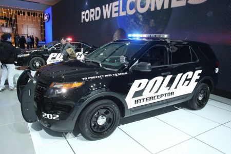 2013 Detroit Auto Show - 2013 Ford Explorer Interceptor Utility