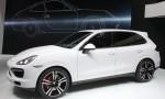 2013 Detroit Auto Show - 2013 Porsche Cayenne Turbo S