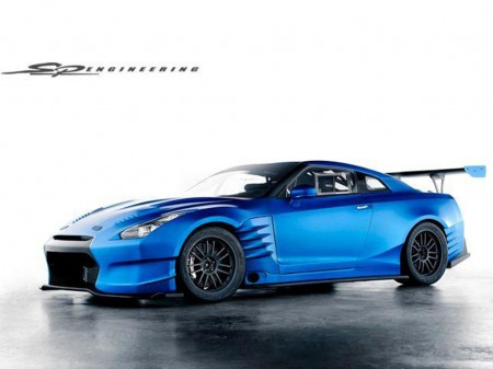 Nissan GT-R in Fast and Furious 6