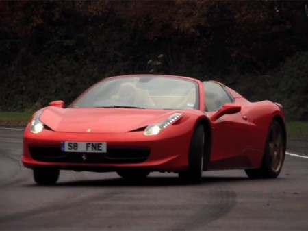 Ferrari 458 Drift