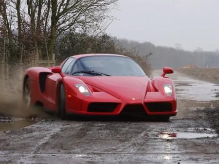 Ferrari Enzo Drift