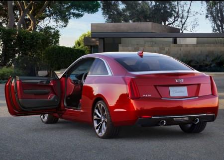 2015 Cadillac ATS Coupe 3