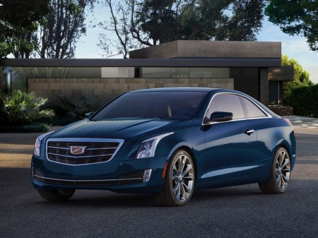 2015 Cadillac ATS Coupe 4
