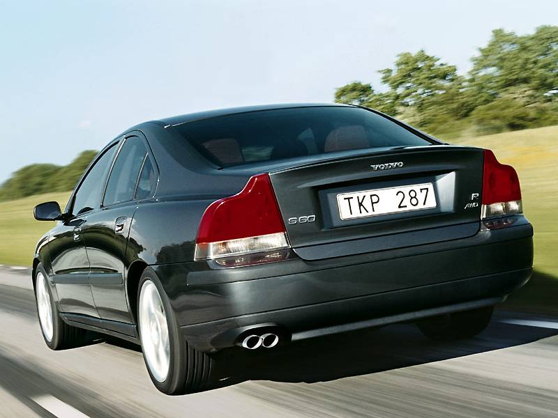 2003 2004 Volvo S60 R Modern Racer Auto Archive Pictures