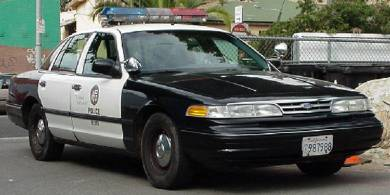 Modern Racer Features Police Cars Ford Crown Victoria Police Interceptor